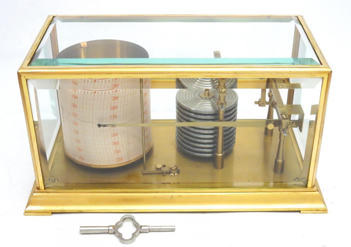 barometer recorder barograph jules