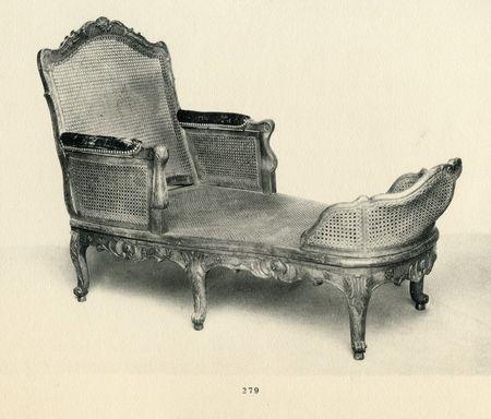 Petite chaise , collection Jacques Doucet