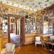Les cabinets des glaces au Château de Ermitage à Bayreuth
