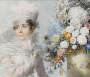 Auguste Garneray, Portrait de l'impératrice Joséphine