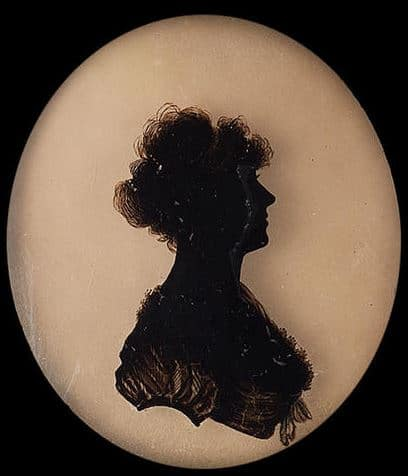 Silhouette d'Isabella Beetham