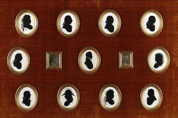 silhouettes de John Miers