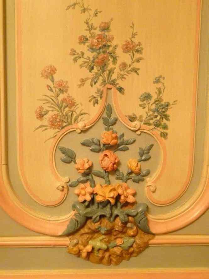 Boiserie du  musée Carnavalet
