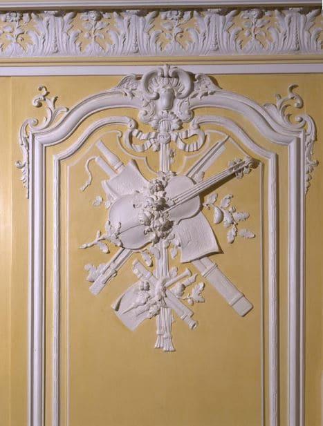 Boiserie du salon jaune (c) musée Carnavalet