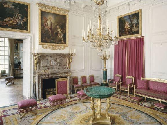 Salon des Malachites Grand Trianon ©RMN-Grand Palais (Château de Versailles) / H. Bréjat