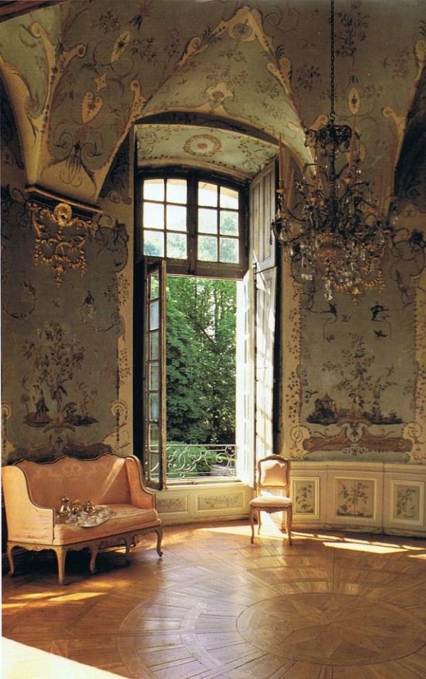 Le salon chinois du château de Haroué