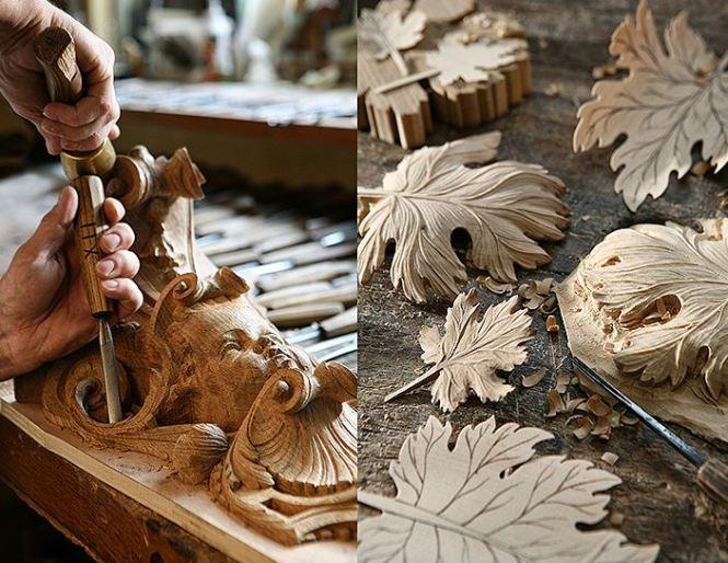 Patrick Blanchard Sculpteur Ornemaniste © Photographies : Alexis Lecomte