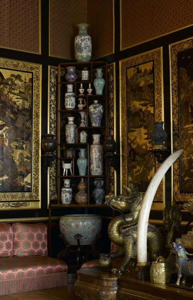 Le Musée chinois de l'impératrice Eugénie, château de Fontainebleau ©RMN