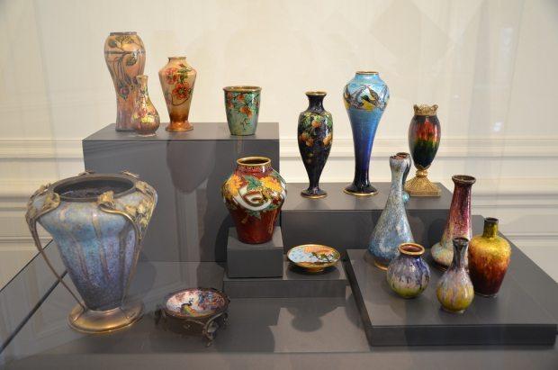 Collection Emaux Art Nouveau, musée des Beaux-Arts de Limoges.
