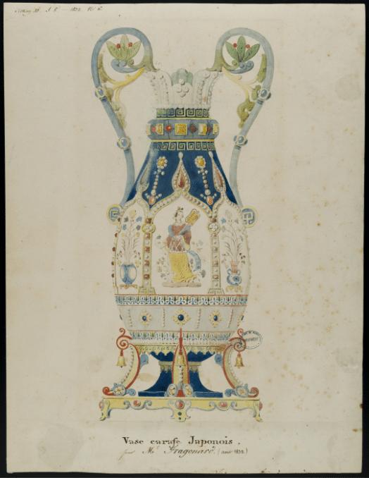 Alexandre-Evariste Fragonard (C) Sèvres – Cité de la céramique