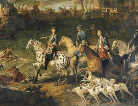 Jean-Baptiste Oudry (1686-1755), Les Chasses de Louis XV © RMN (château de Fontainebleau) / Gérard Blot