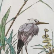 «Les grands Oiseaux»: Service de faïences de Bordeaux