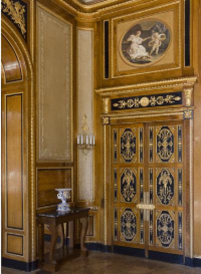 Musée Masséna, décor du château de Govone.
