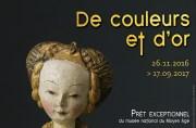 «De couleurs et d'or» au musée Anne de Beaujeu