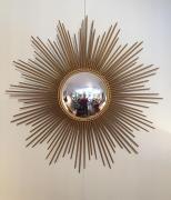Le miroir soleil: miroir vintage