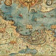 Quand les artistes dessinaient les cartes, Vues et figures de l'espace français, Moyen Âge et Renaissance
