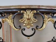 Console du Comtat Venaissin en ferronnerie, d'époque XVIIIe.