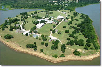 Camp Copass Aerial View