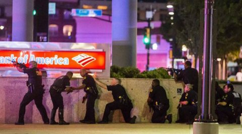 Dallas Police Ambush