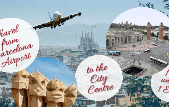 Ultimate Travel Hack: Barcelona Airport to City Center for 1€