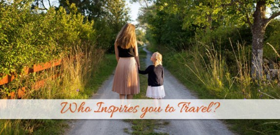 Celebrities who inspire to travel