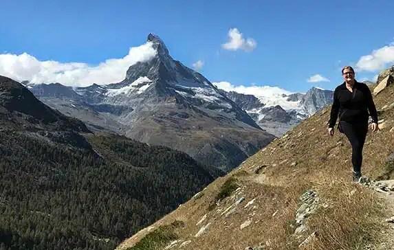 5-Lakes Scenic Hike (5-Seenweg) in Zermatt Switzerland