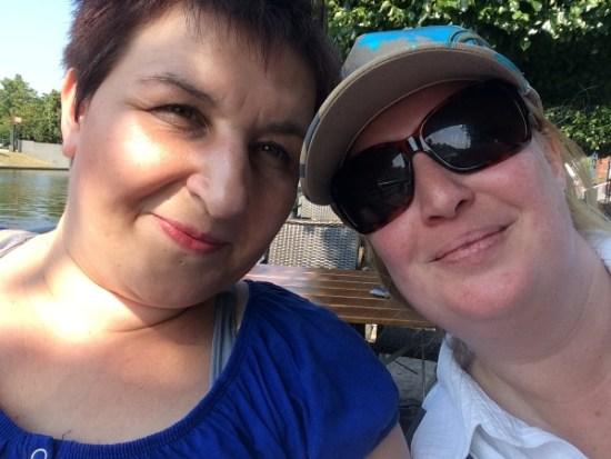 Summer-Challenge Bloggertreffen 2015 Nadja und Natascha Probenqueen