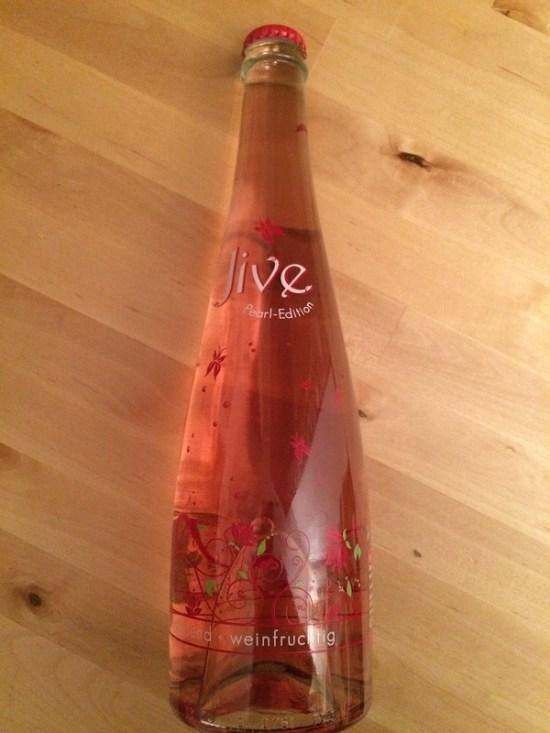 Jive Pearl Edition Flasche von vorne - Probenqueen