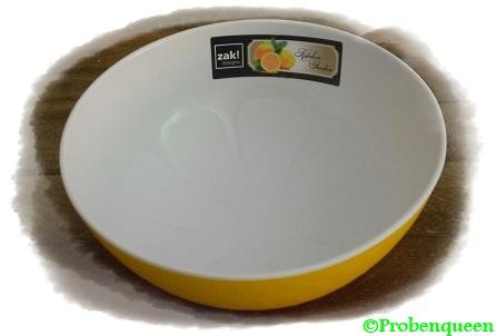 Zak-Design-gelbes-Schälchen-Probenqueen