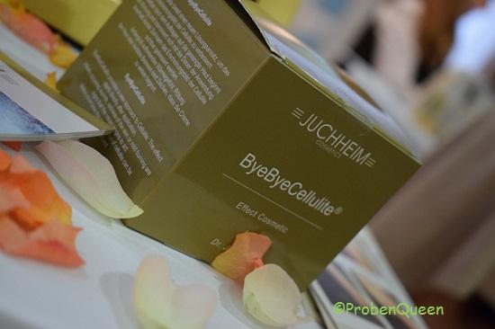 Juchheim ByeByeCellulite Packung Probenqueen