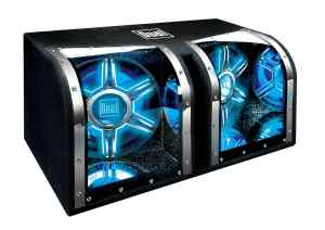 4. Dual BP1204 12-Inch 1100-Watt Illumination Bandpass Subwoofer
