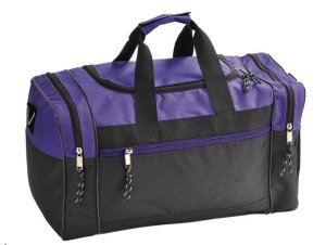 9. Blank Duffle Bag Duffel Bag Travel Size Sports Durable Gym Bag