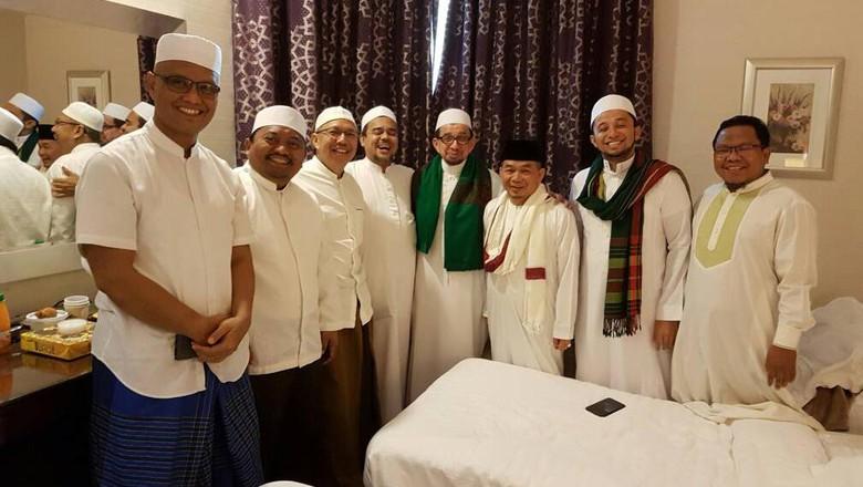 Habib Rizieq dan petinggi PKS