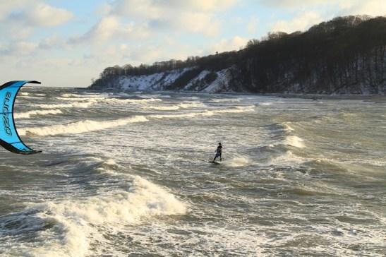 kitesurfen winter 06