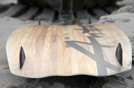 Anton Custom KiteBoard Bullet clear wood Proto 03