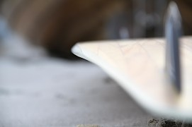Anton Custom KiteBoard Bullet clear wood Proto 04