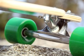 Atom Longboard drop through 13