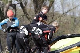 Kitesurfkurs Insel Ruegen Ostern 07