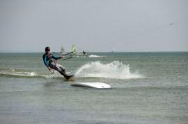 Kitesurfen Ruegen Flachwasser 02