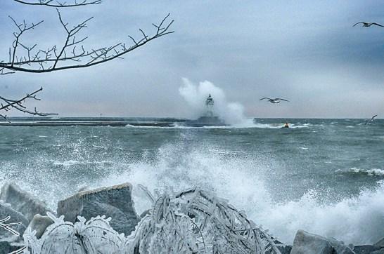 Sassnitz im Sturm