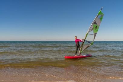 Windsurfen lernen Insel Rügen