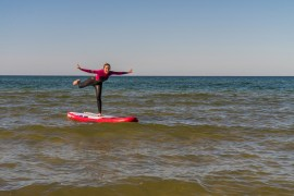 SUP Fitness Training Insel Rugen Ostsee