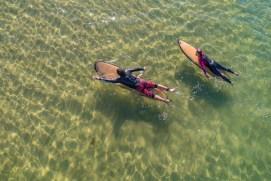 Wellenreiten lernen Surfen Insel Ruegen Ostsee