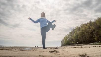Yoga Ostseestrand Ruegen 03