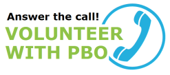 Answer the call! Volunteer with PBO