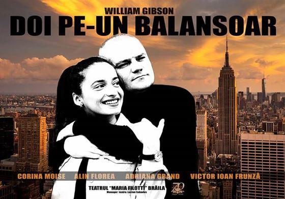 """Sâmbătă avem """"Doi pe un balansoar"""" la Teatrul Maria Filotti"""