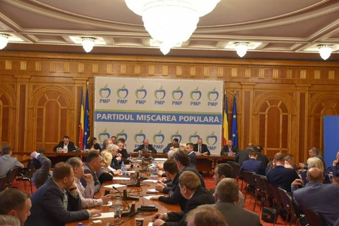 PMP și-a stabilit lista pentru europarlamentare