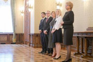 Deputatul Emilia Meirosu a facut parte din delegatia Pro Romania la Palatul Cotroceni