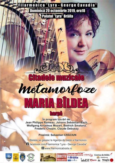 """Concert de harpă """"Citadele muzicale"""""""