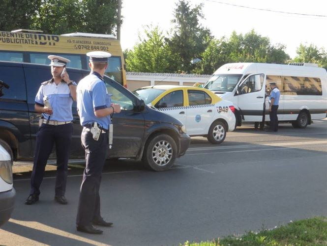 Amenzi de peste 350.000 de lei aplicate de polițiști în ultima săptămână